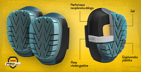 New article - Knee pads with gel