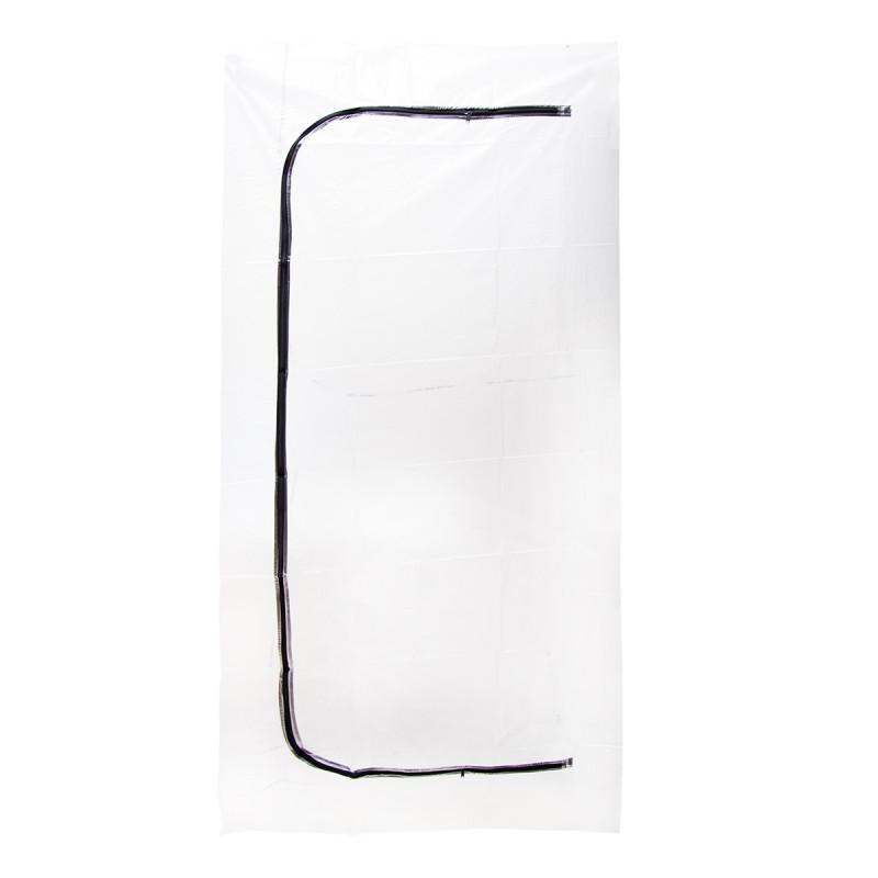 Dust barrier zip door 1.3x2.3m