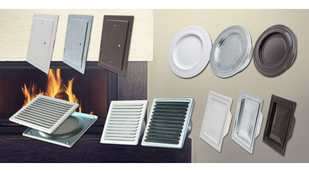 Rosettes and grilles