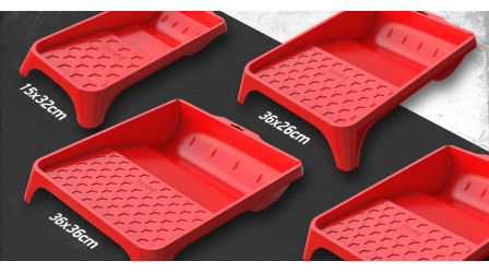 New redesigned paint trays