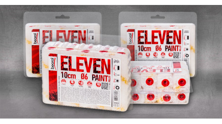 New package for small paint rollers