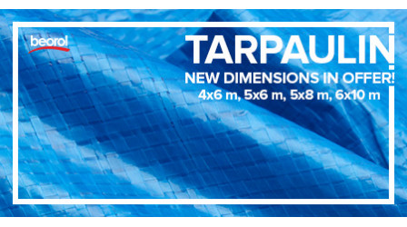 Tarpaulins - new dimensions