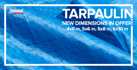 Tarpaulins - new dimensions