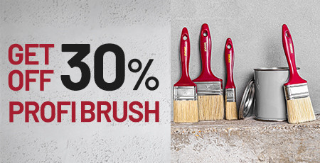 Get off 30% - Professional brushes