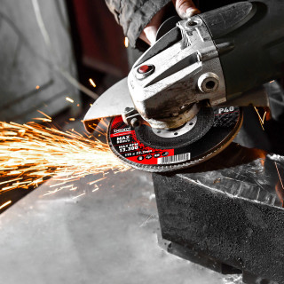 Flap disc aluminium ø115mm, grit 120