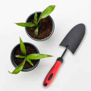 Garden powder coated steel trowel - wide