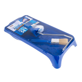 Blue Painting Set - tray, brush, mini roller
