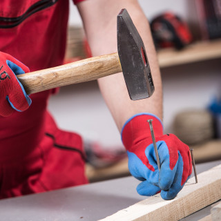 Hammer with oak wood handle, 1000gr/35oz