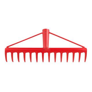 Reinforced garden rake 14 teeth