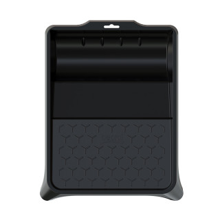Plastic paint tray 36x26cm - black