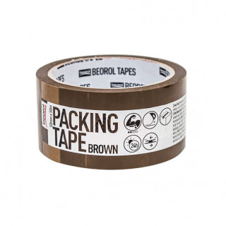 Packing tape, brown 50mm x 50m