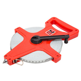 Fiberglass measuring tape professional 100 ft /30m