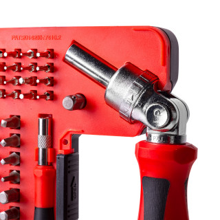 Ratchet screwdriver set 68 pieces