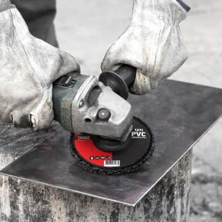 PVC abrasive disc ø127mm