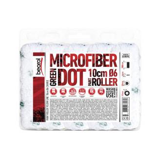Radiator paint roller Microfiber Green Dot 10cm charge