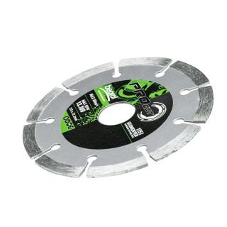 Segmented diamond cutting disc, ø115mm
