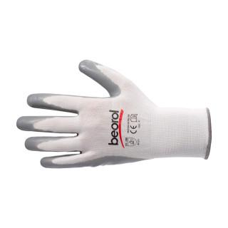 Triton-nitrile gloves