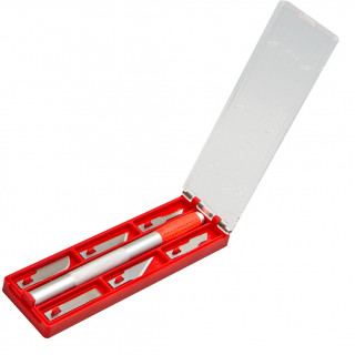 Utility knife for precise cutting - 6 blades