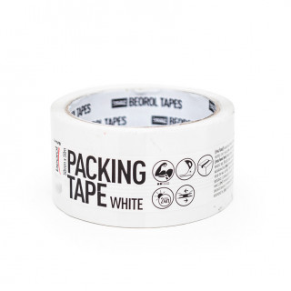 Painted tape white 50mm x 50m
