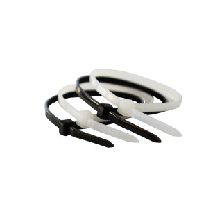 Plastic tie white 4.8x500mm 50 pcs.