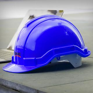 Safety helmet, dark blue colour
