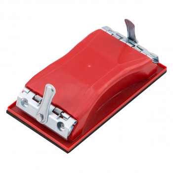 Sandpaper holder with mechanism - small