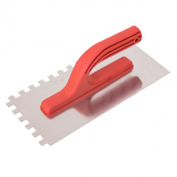 Plastering trowel, ABS handle, 10x10mm