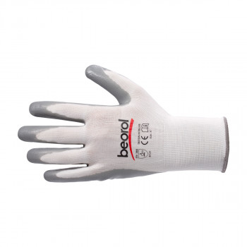 Triton-nitrile gloves