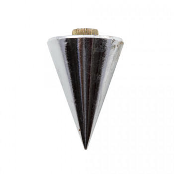 Plumb bob with plate and rope 600gr