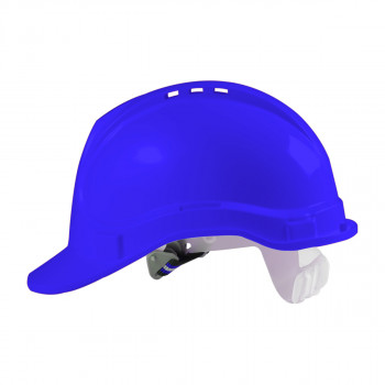 Safety helmet, dark blue colour