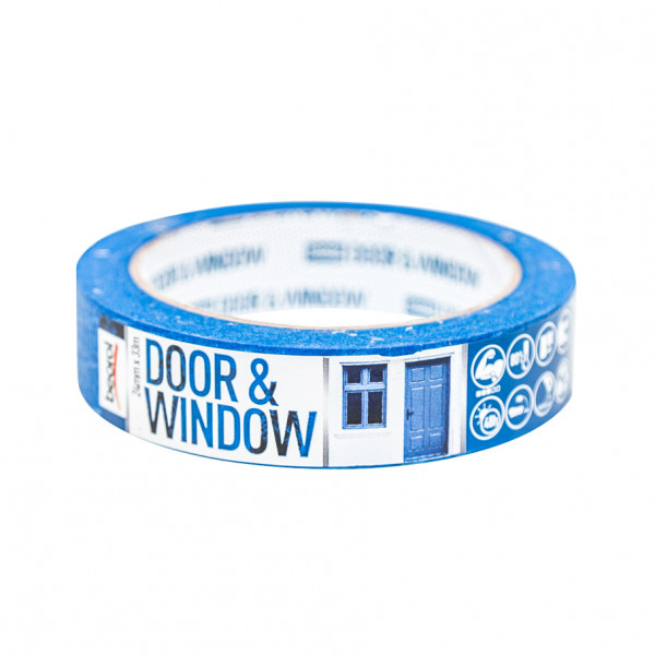 Masking tape Door & Window protection 24mm x 33m, 80ᵒC