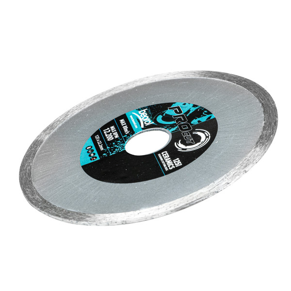 Diamond cutting disc for ceramics, ø125mm