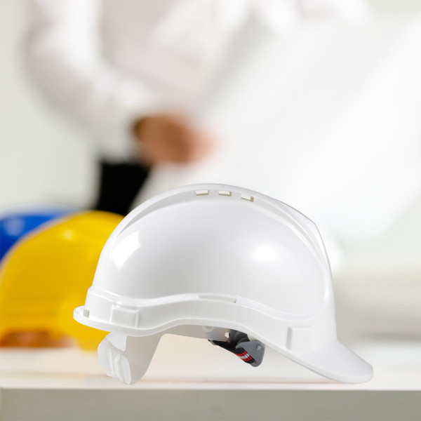 Safety helmet, white colour