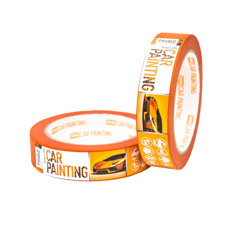 Car-painting masking tape 24mm x 33m, 100ᵒC