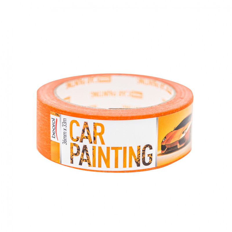Car-painting masking tape 36mm x 33m, 100ᵒC