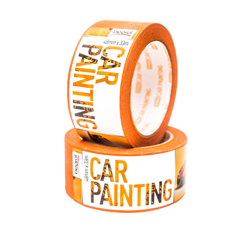Car-painting masking tape 48mm x 33m, 100ᵒC