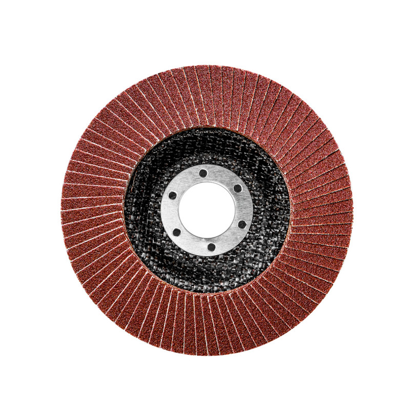 Flap disc aluminum ø115mm, grit 100