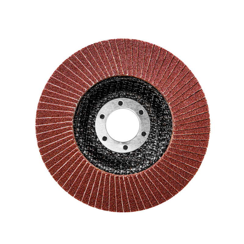 Flap disc aluminium ø115mm, grit 60