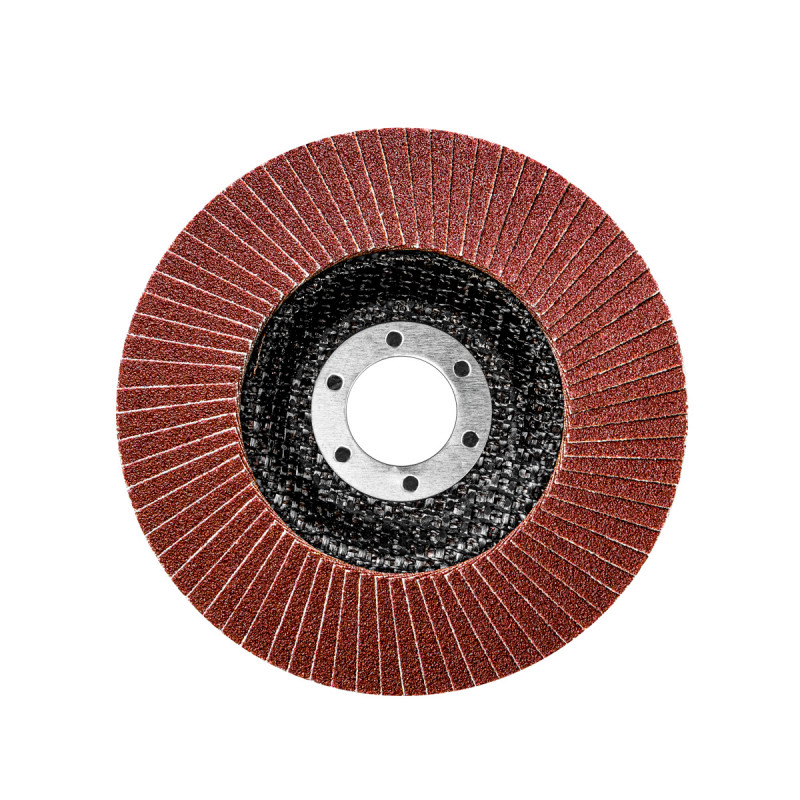 Flap disc aluminium ø115mm, grit 80