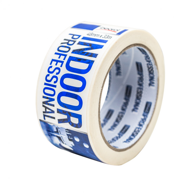 Masking tape Indoor Professional, 48mm x 33m, 70ᵒC
