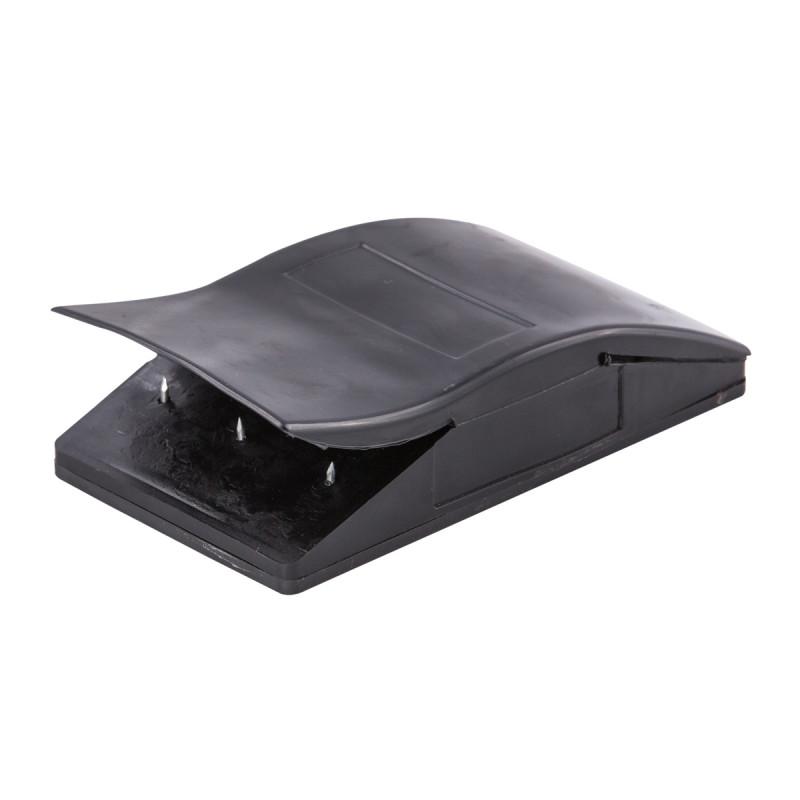 Sandpaper holder, black rubber