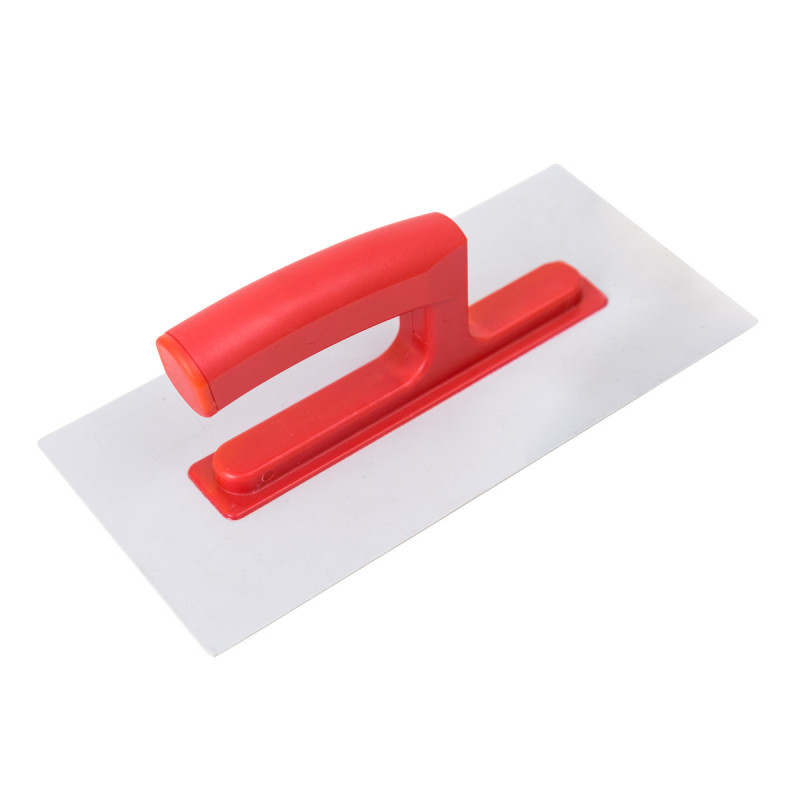 Plastic plastering trowel