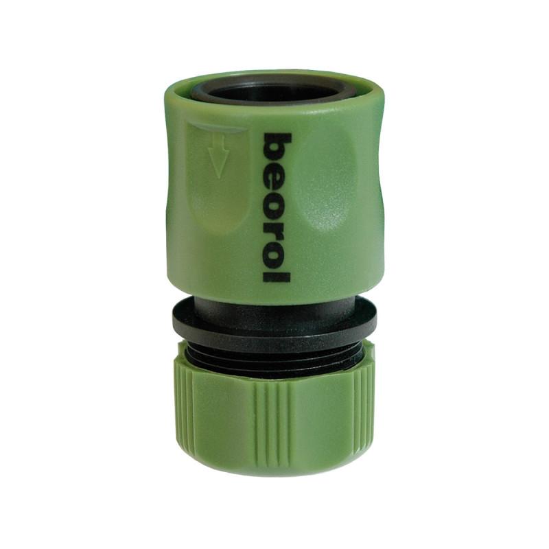 Plastic hose quick connector 1/2