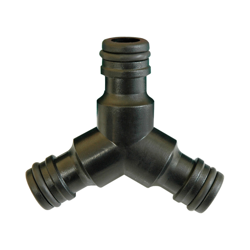 Plastic 'Y' snap-in coupling
