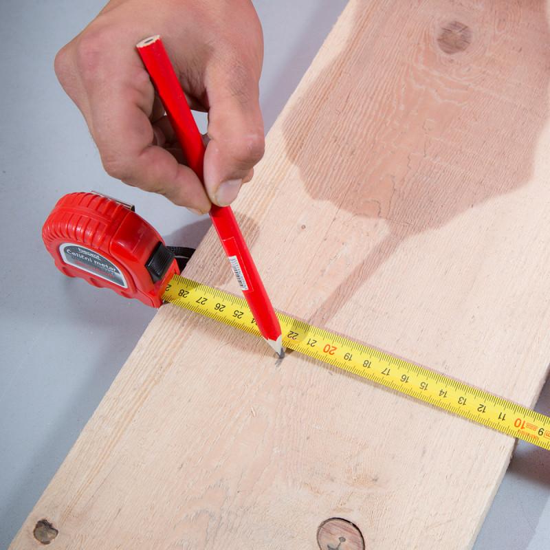 Steel measuring tape 6.5 ft / 2m
