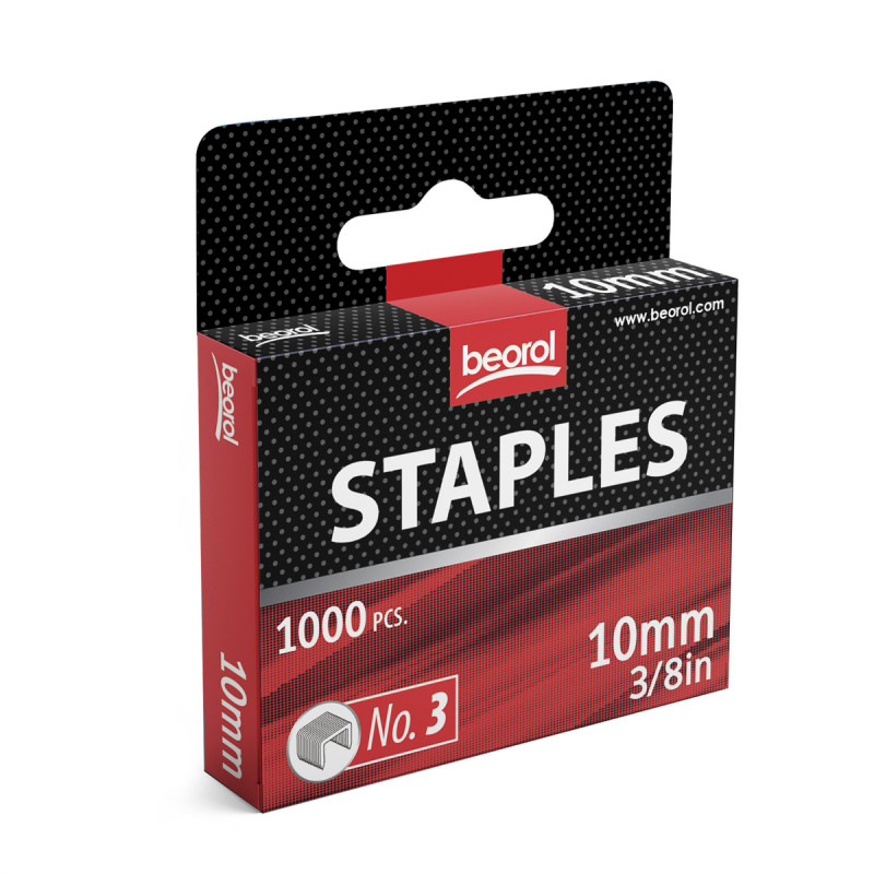 Staples 10mm, 1000pcs