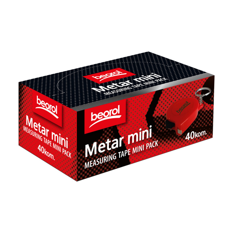 Measuring tape mini 40/1 pack