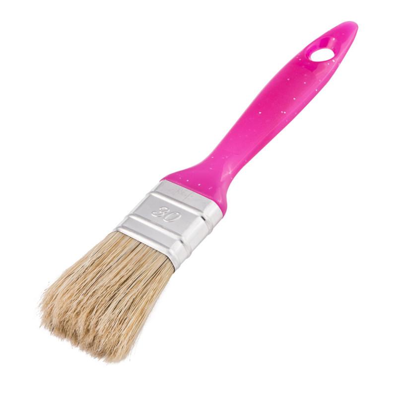 Pink Painting Set - tray, brush, mini roller