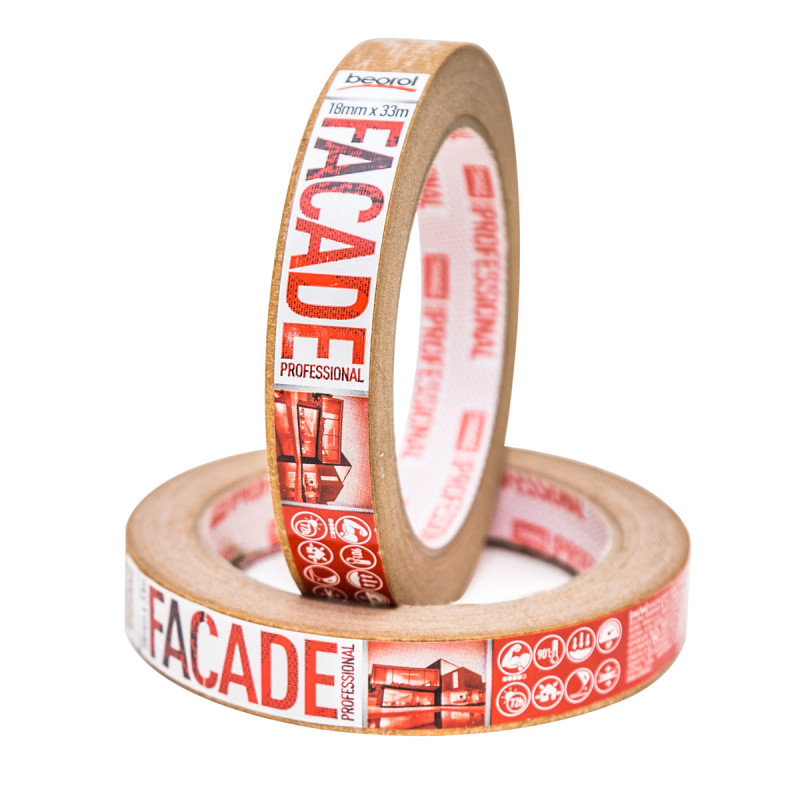 Masking tape Facade Professional 18mm x 33m, 90ᵒC