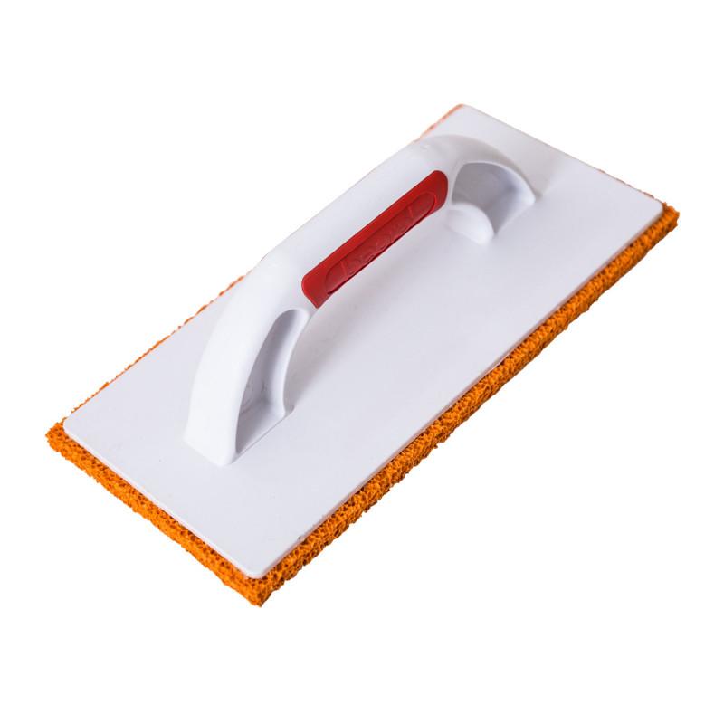 Orange rubber sponge float